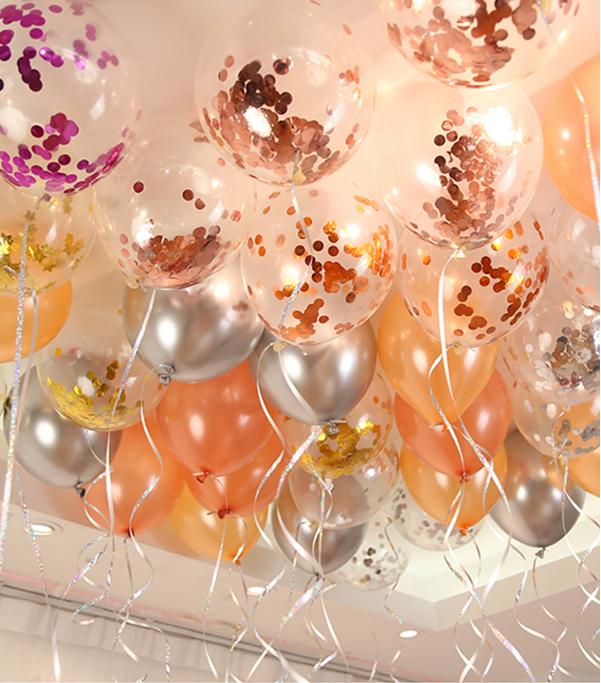西式气球婚房布置小物图片10
