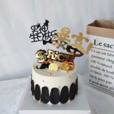 送老公浪漫蛋糕图片 2019最新20款男士蛋糕图片