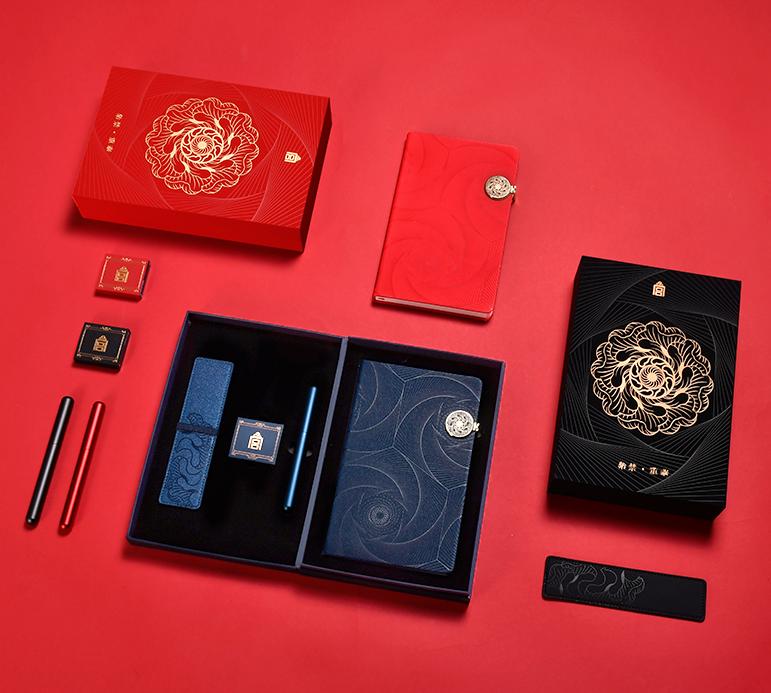 故宫•重华笔记套装