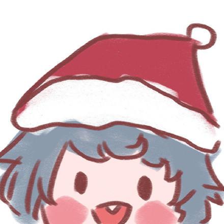 圣诞情侣头像7