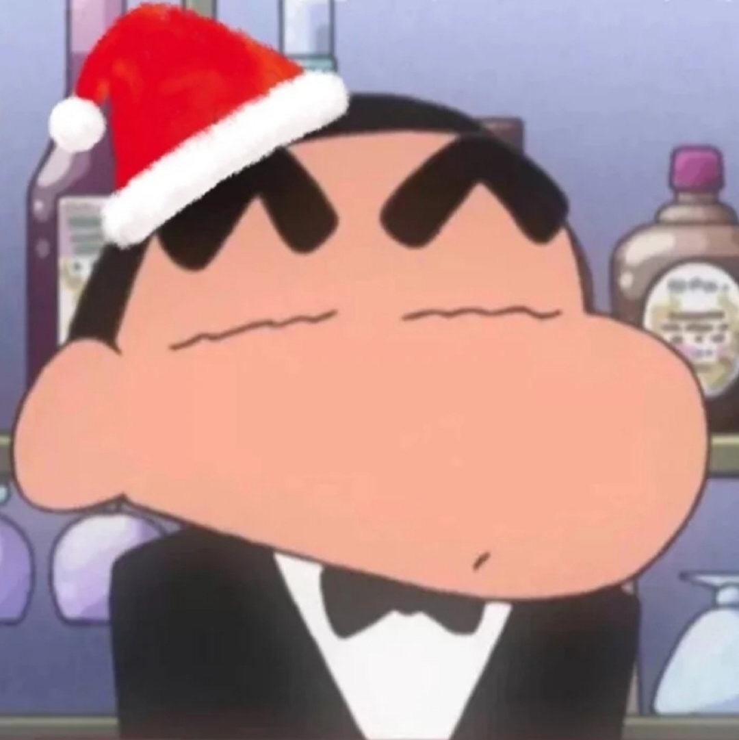 圣诞情侣头像13