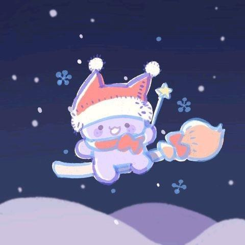 圣诞情侣头像19