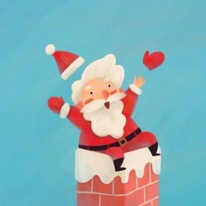 圣诞情侣头像61