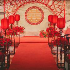 中式婚礼现场布置效果图 古色古香的中式婚礼怎么办