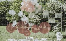 婚礼迎宾区布置图 婚礼迎宾区怎么布置才好看