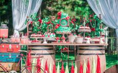 婚礼甜品台图片 婚礼甜品台怎么设计比较有品位