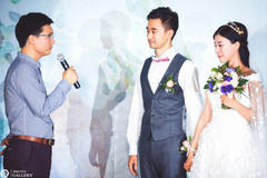 新婚贺词男方亲属代表致辞范文