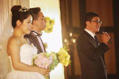 在儿子婚礼上的致辞 婚礼父亲致辞全场泪奔