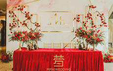 婚礼签到区布置技巧 最好看的婚礼签到区长这样