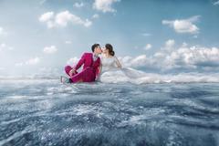 冬天拍婚纱照注意事项