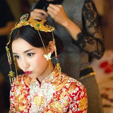 新娘头饰造型图片大全 新娘头饰图片大全