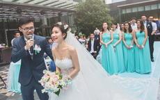 婚礼接到捧花说什么 接到手捧花的发言大方