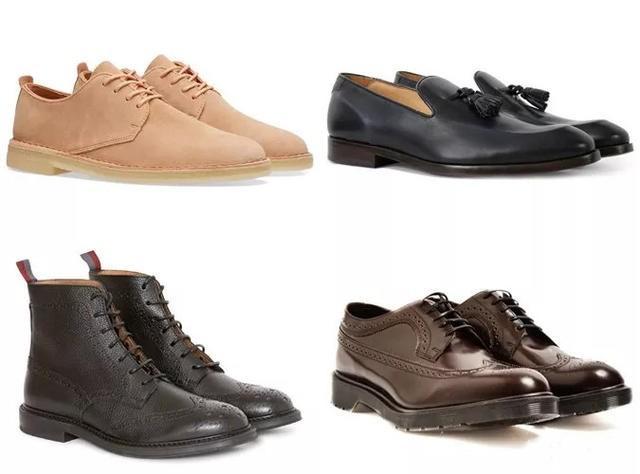 灰色休闲西装适合搭配的鞋子
