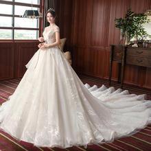 中式梦幻立领短袖婚纱•送三件套