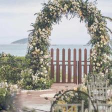 结婚拱门图片 结婚拱门怎么布置好看