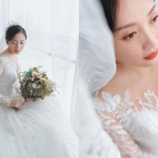 小清新婚纱照图片