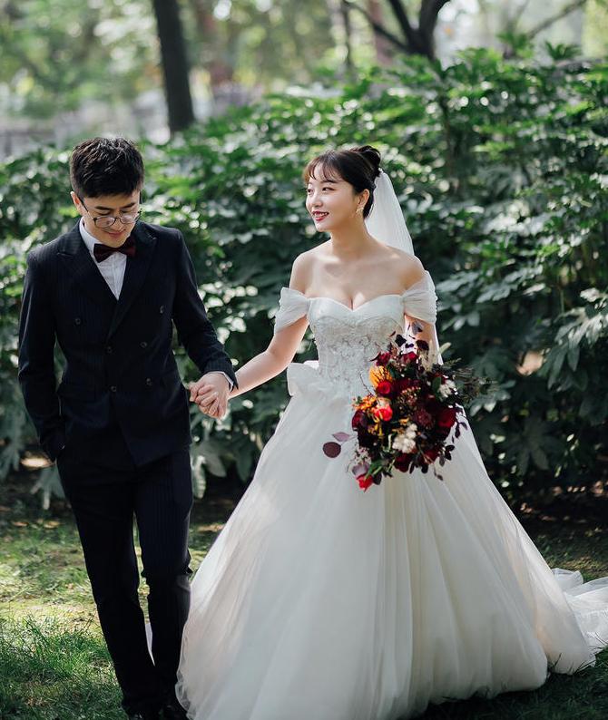 新郎新娘外景拍摄