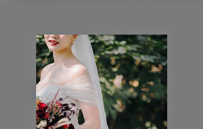 新娘单人外景照