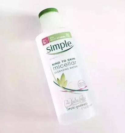 simple卸妆水