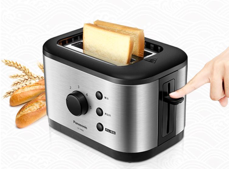 松下五色家用烤面包机