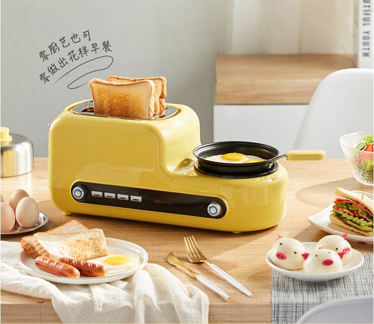 小熊多功能烤面包机