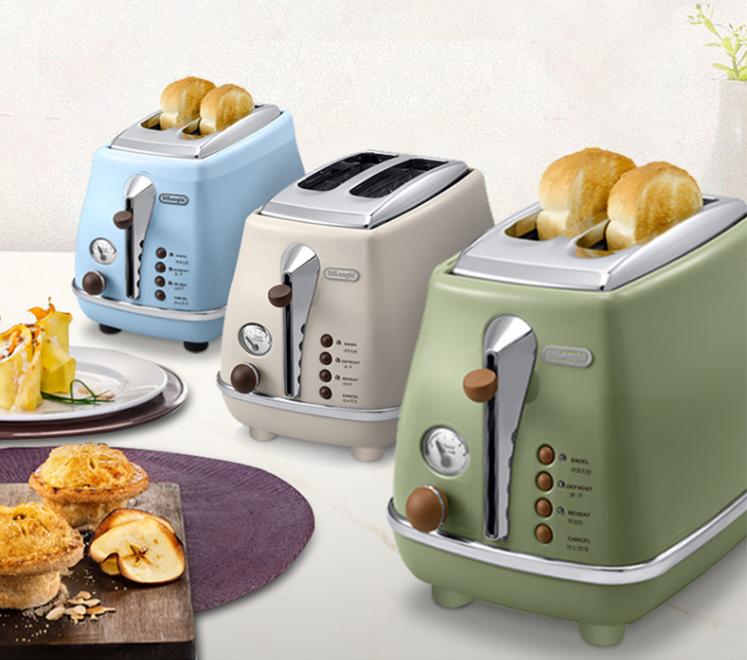德龙家用烤面包机