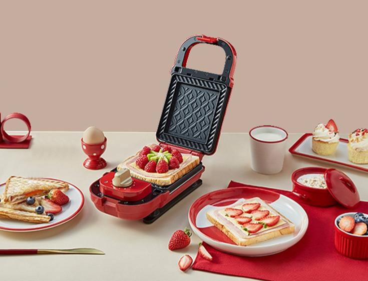 日本bruno家用烤面包机