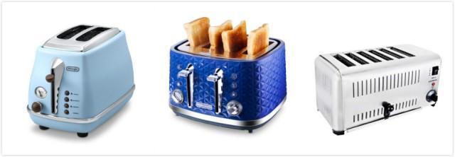 烤面包机槽数