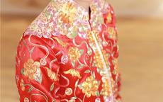 中式唯美婚纱照图片