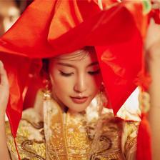 凤冠霞帔古装婚纱照