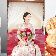 中式新娘发型简单大方(多图)