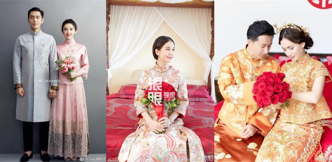 中式婚礼服装