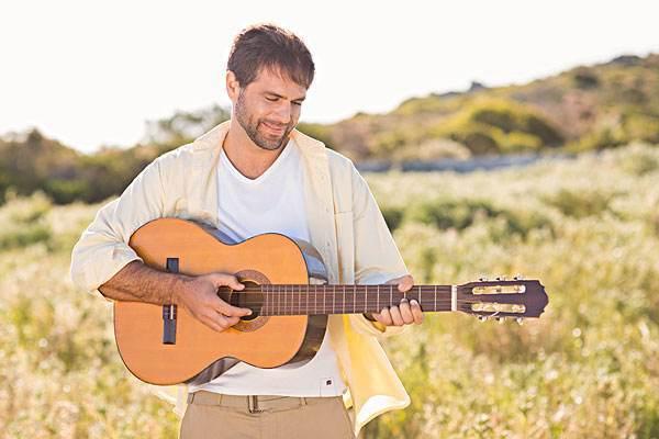 弹吉他表白