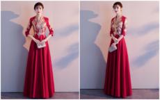 婚宴晚礼服什么时候穿?婚宴晚礼服必须是红色吗
