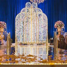 高端大气婚礼布置图片 高端大气婚礼如何布置