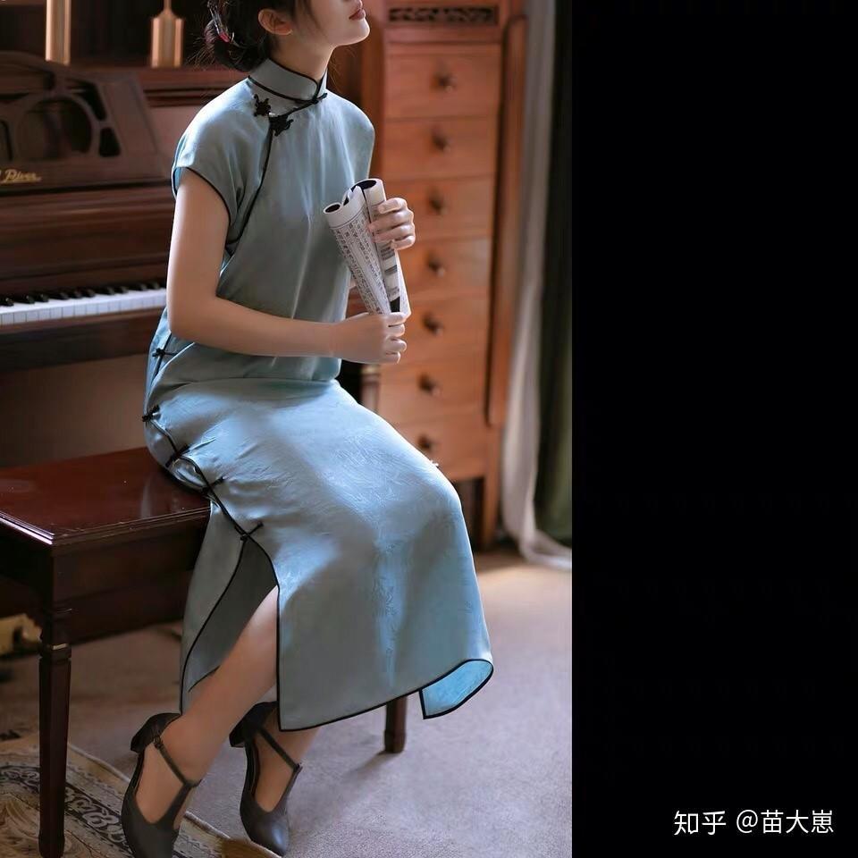 适合搭配旗袍的玛丽珍鞋