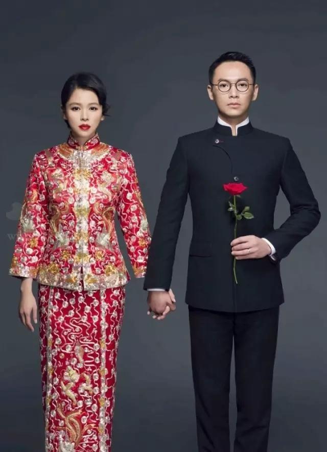 龙凤褂裙摆样式