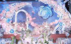 室内婚礼现场布置效果图2020