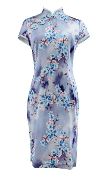陶玉梅旗袍款式