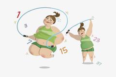 跳绳可以减肥吗  跳绳减肥多久见效