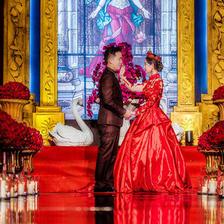 中国风婚礼布置效果图参考