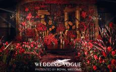 红色婚礼布置现场如何做?