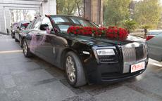 黑色婚车装饰图片 黑色婚车怎么装饰