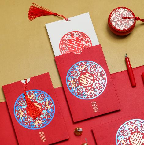 红色中国风红包
