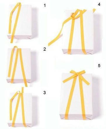 V字型礼物丝带