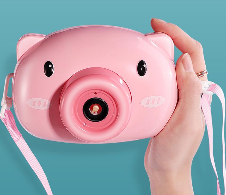 自动吹泡泡相机