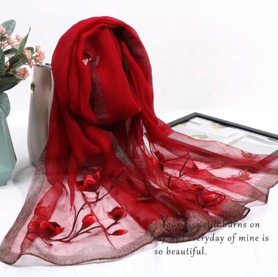 廉价丝质围巾
