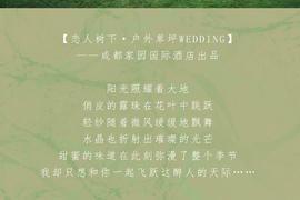 草坪婚礼-恋人树下