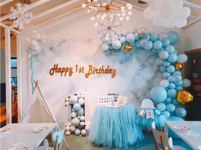 小朋友生日气球布置图片3