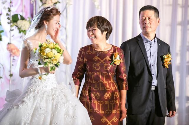 结婚父母致辞